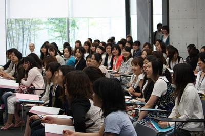 理系女性人材育成セミナーの風景.jpg